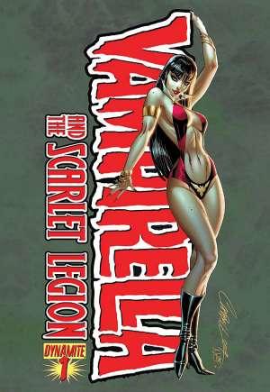 Vampirella and the Scarlet Legion#1A