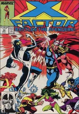 X-Factor (1986-1998)#32B
