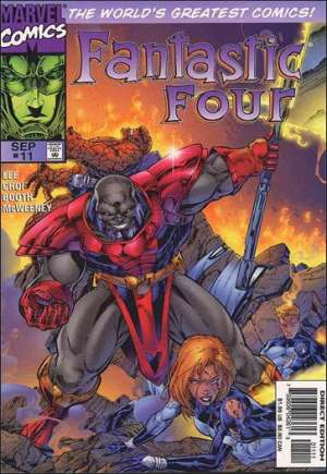 Fantastic Four (1996-1997)#11B