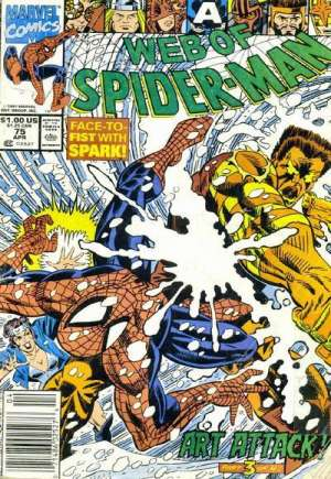Web of Spider-Man (1985-1995) #75A