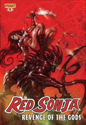 Red Sonja: Revenge of the Gods#4A