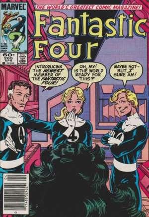 Fantastic Four (1961-1996)#265A