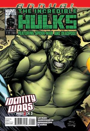 Incredible Hulks (2010-2011)#Annual 1