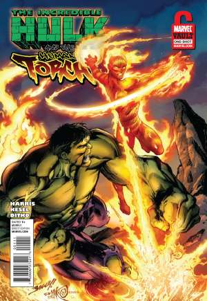 Incredible Hulk and the Human Torch #1