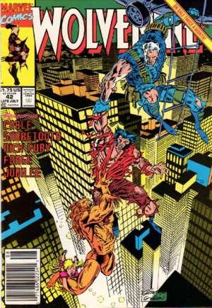 Wolverine (1988-2003)#42A