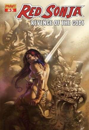 Red Sonja: Revenge of the Gods#5A