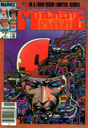 Machine Man (1984-1985)#2A