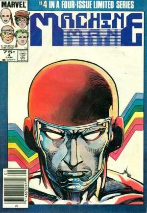 Machine Man (1984-1985)#4A