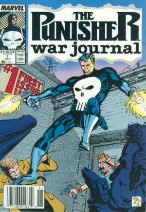 Punisher: War Journal (1988-1995)#1A