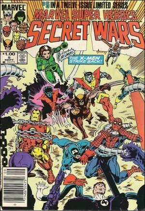 Marvel Super-Heroes Secret Wars (1984-1985)#5C