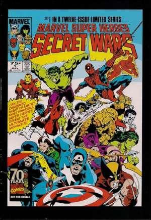 Marvel Super-Heroes Secret Wars (1984-1985)#1E