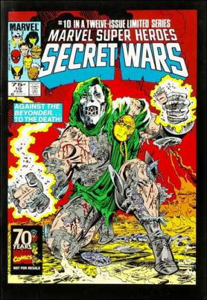 Marvel Super-Heroes Secret Wars (1984-1985) #10D