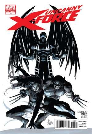 Uncanny X-Force (2010-2012)#15B