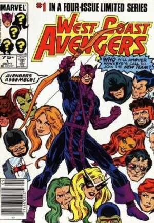 West Coast Avengers (1984)#1A