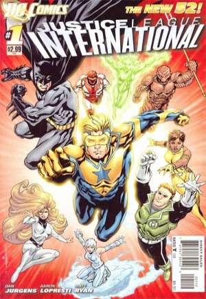 Justice League International (2011-2012)#1B