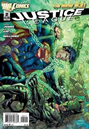 Justice League (2011-2016)#2A