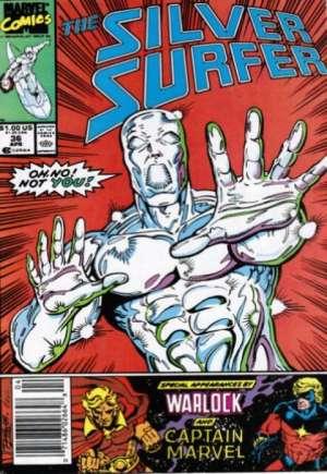 Silver Surfer (1987-1998)#36A