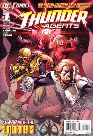 T.H.U.N.D.E.R. Agents (2012)#1