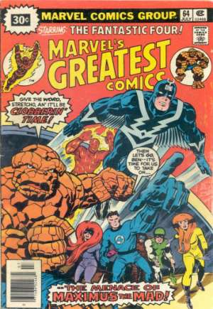 Marvel's Greatest Comics (1969-1981)#64B