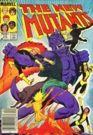 New Mutants (1983-1991)#14A