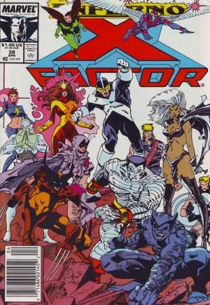 X-Factor (1986-1998)#39A