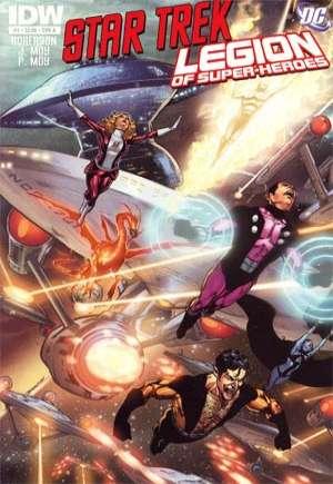 Star Trek/Legion of Super-Heroes#4A