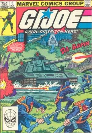 G.I. Joe (1982-1994)#5D