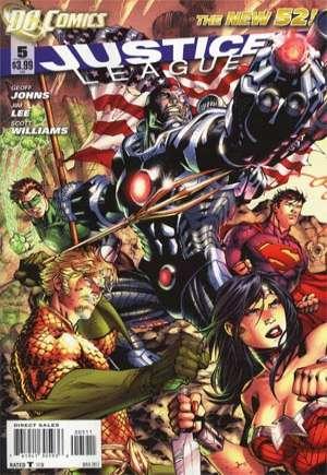 Justice League (2011-2016)#5A
