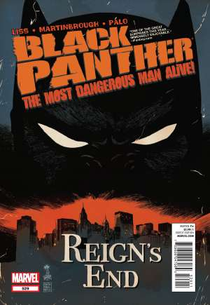 Black Panther: The Most Dangerous Man Alive (2011-2012)#529