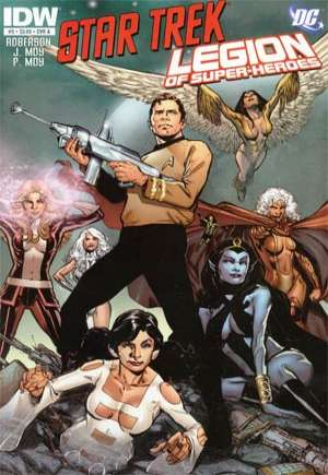 Star Trek/Legion of Super-Heroes #5A