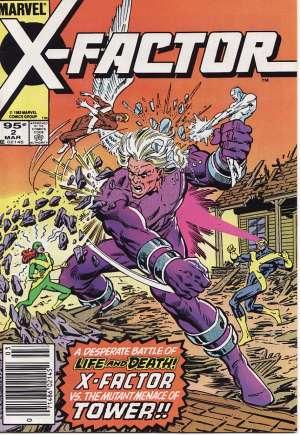 X-Factor (1986-1998)#2C