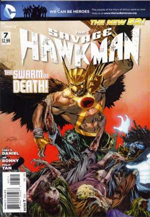 Savage Hawkman (2011-2013)#7