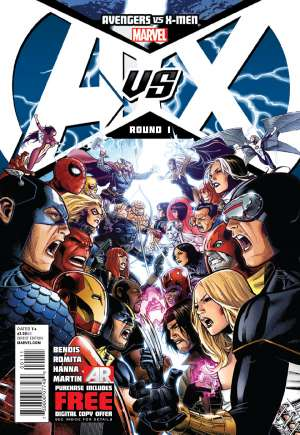 Avengers vs. X-Men (2012)#1A