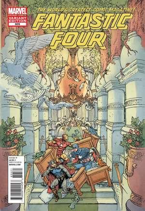 Fantastic Four (2012)#605B