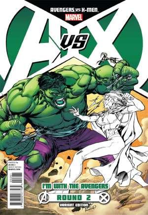 Avengers vs. X-Men (2012)#2B