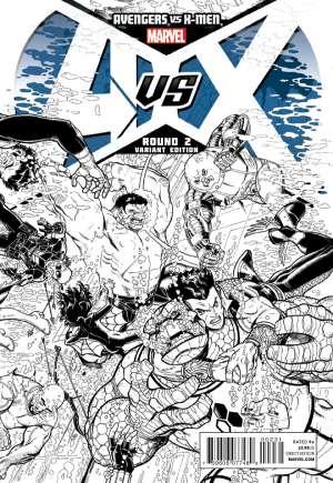 Avengers vs. X-Men (2012)#2G