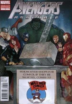 Avengers Assemble (2012-2014)#1HK
