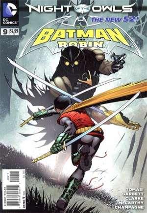 Batman and Robin (2011-2015)#9