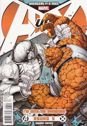 Avengers vs. X-Men (2012)#5B
