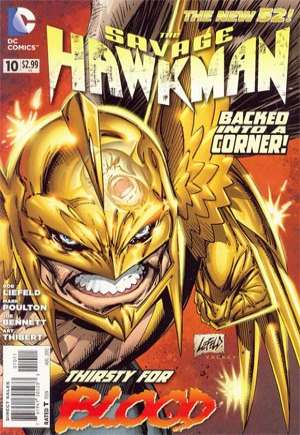 Savage Hawkman (2011-2013)#10