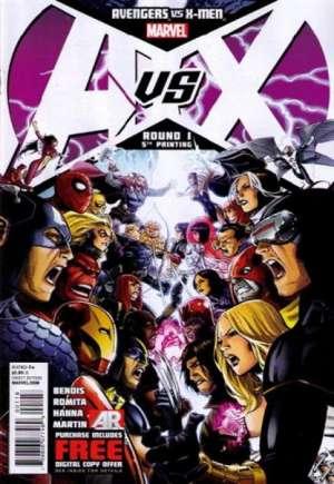 Avengers vs. X-Men (2012)#1T