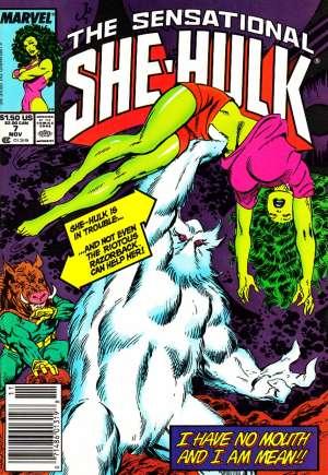 Sensational She-Hulk (1989-1994)#7A