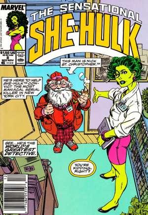 Sensational She-Hulk (1989-1994)#8A