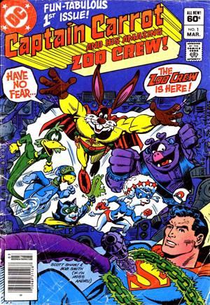 Captain Carrot And His Amazing Zoo Crew (1982-1983)#1