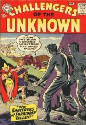 Challengers of the Unknown (1958-1978) #6