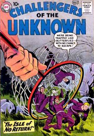 Challengers of the Unknown (1958-1978)#7