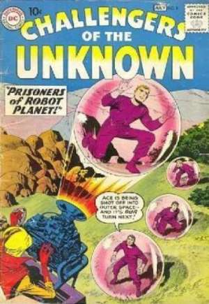 Challengers of the Unknown (1958-1978)#8
