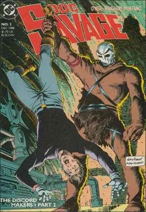 Doc Savage (1988-1990)#2