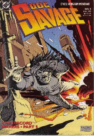 Doc Savage (1988-1990)#5