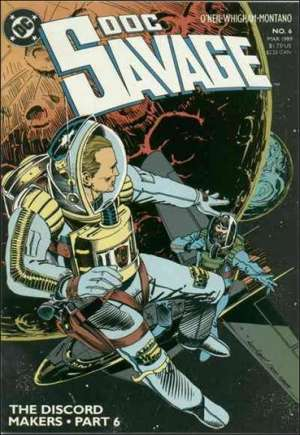 Doc Savage (1988-1990)#6